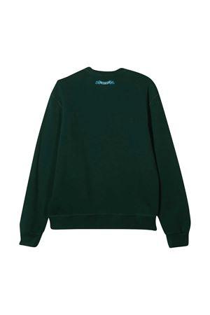 Dark green sweatshirt teen Dsquared2 Kids DSQUARED2 KIDS   -108764232   DQ049LD002GDQ865T