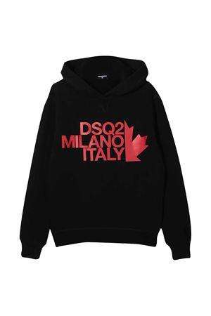 Black sweatshirt Dsquared2 Kids DSQUARED2 KIDS | -108764232 | DQ049ND002GDQ900