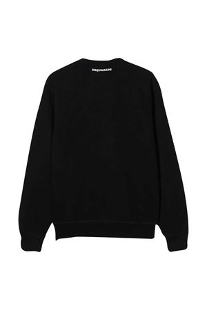 Black teen sweatshirt Dsquared2 Kids DSQUARED2 KIDS | -108764232 | DQ049XD002GDQ900T