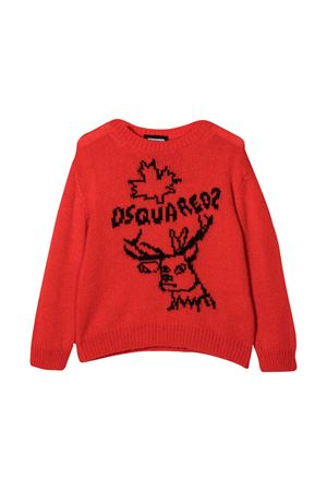 Red sweater teen Dsquared2 Kids DSQUARED2 KIDS | 7 | DQ049YD001ADQ254T