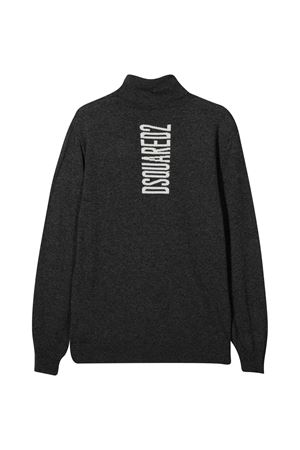 Dark gray sweater teen Dsquared2 Kids DSQUARED2 KIDS | 7 | DQ04A0D00NUDQ912T