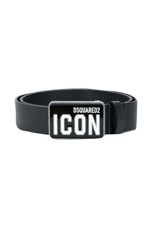 Cintura nera Icon Dsquared2 Kids DSQUARED2 KIDS | 22 | DQ04A4D003JDQ900