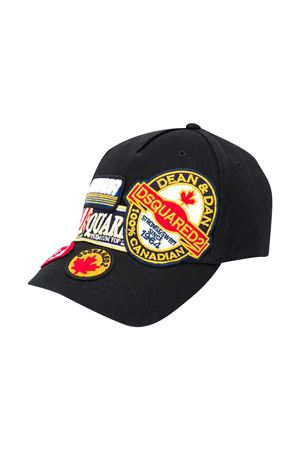 Black hat Dsquared2 Kids  DSQUARED2 KIDS | 75988881 | DQ04A9D00I8DQ900