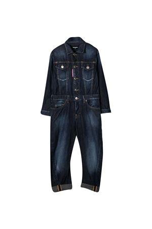 Denim jumpsuit Dsquared2 Kids  DSQUARED2 KIDS | 19 | DQ04BCD002CDQ01