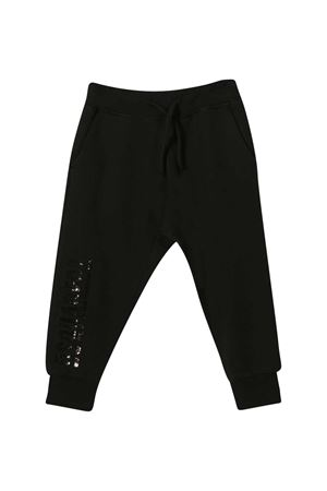 Jogging pants neri teen Dsquared2 kids DSQUARED2 KIDS | 9 | DQ04BFD00G4DQ900T