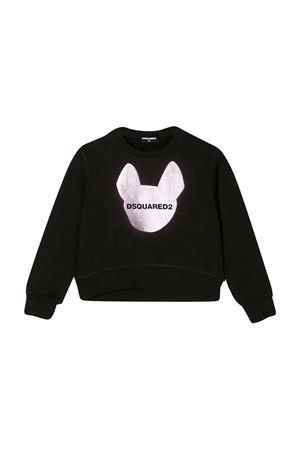 Black teen Dsquared2 kids sweatshirt DSQUARED2 KIDS   -108764232   DQ04C2D001FDQ900T