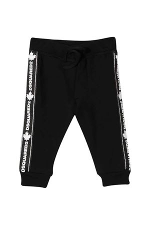Black pants Dsquared2 kids  DSQUARED2 KIDS | 9 | DQ04CZD00V3DQ900