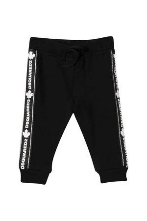 Pantaloni neri Dsquared2 kids DSQUARED2 KIDS | 9 | DQ04CZD00V3DQ900