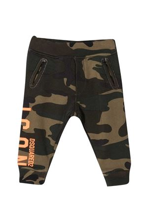Pantaloni verdi Dsquared2 Kids DSQUARED2 KIDS | 9 | DQ04D1D002WDQC03