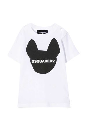 T-shirt bianca Dsquared2 kids DSQUARED2 KIDS | 8 | DQ04D4D00XMDQ100