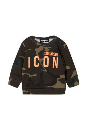 Green sweatshirt Dsquared2 Kids  DSQUARED2 KIDS | -108764232 | DQ04DED002WDQC03