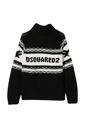 Black Dsquared2 Kids Icon sweater  DSQUARED2 KIDS | 7 | DQ04I5D003EDQ900