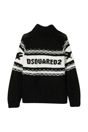 Maglione nero Dsquared2 Kids DSQUARED2 KIDS | 7 | DQ04I5D003EDQ900