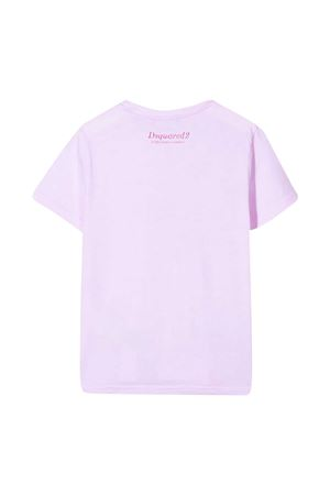Pink t-shirt teen Dsquared2 Kids  DSQUARED2 KIDS | 8 | DQ04J5D003LDQ310T