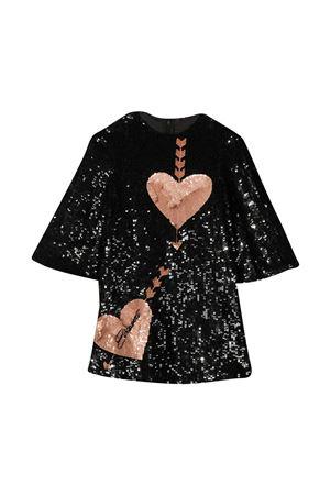 Black dress teen Elisabetta Franchi La mia bambina  ELISABETTA FRANCHI LA MIA BAMBINA | 11 | EFAB3000158ZE0040010T