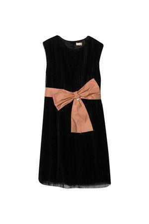 Black dress teen Elisabetta Franchi La mia bambina  ELISABETTA FRANCHI LA MIA BAMBINA   11   EFAB310TU42ZE0350130T