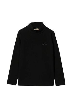 Black sweatshirt Elisabetta Franchi La mia bambina  ELISABETTA FRANCHI LA MIA BAMBINA   8   EFTS122JE95ZE0220076