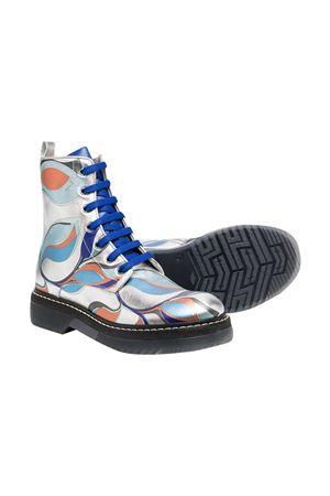 Multicolor boots teen Emilio Pucci junior EMILIO PUCCI JUNIOR | 76 | 9N0226NX730925MCT