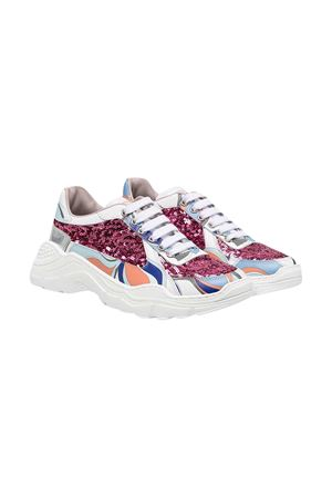 Sneakers multicolor teen Emilio Pucci junior EMILIO PUCCI JUNIOR | 90000020 | 9N0246NX460100MCT