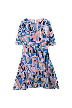 Multicolored flared dress Emilio Pucci Junior  EMILIO PUCCI JUNIOR | 11 | 9N1231NF010613RS
