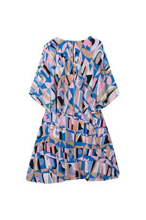Multicolored flared dress Emilio Pucci Junior  EMILIO PUCCI JUNIOR | 11 | 9N1231NF010613RS