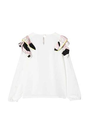 White blouse Emilio Pucci kids EMILIO PUCCI JUNIOR | 7 | 9N5000NC120101