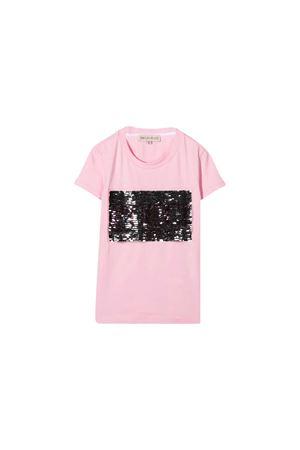Emilio Pucci Junior pink t-shirt  EMILIO PUCCI JUNIOR | 8 | 9N8071NC470505