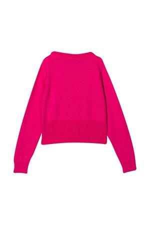 Fuchsia shirt with frontal logo embroidery Emilio Pucci Junior EMILIO PUCCI JUNIOR | 7 | 9N9000NE140514