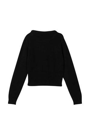 Black shirt with logo embroidery Emilio Pucci Junior EMILIO PUCCI JUNIOR | 7 | 9N9000NE140930