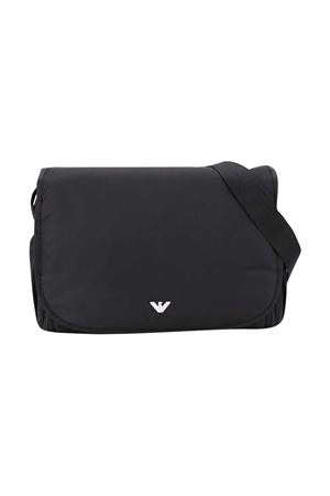 Black changing bag Emporio Armani kids  EMPORIO ARMANI KIDS | 31 | 402145CC90400020