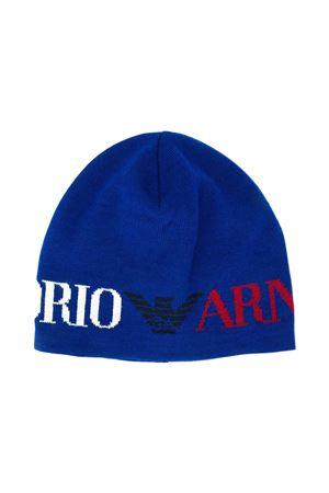 Cappello blu Emporio Armani kids EMPORIO ARMANI KIDS | 75988881 | 4043830A43004134