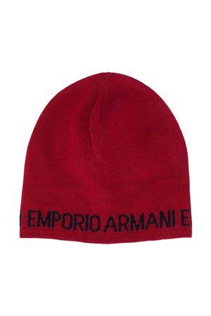 Cappello rosso Emporio Armani kids EMPORIO ARMANI KIDS | 75988881 | 4046130A46500173