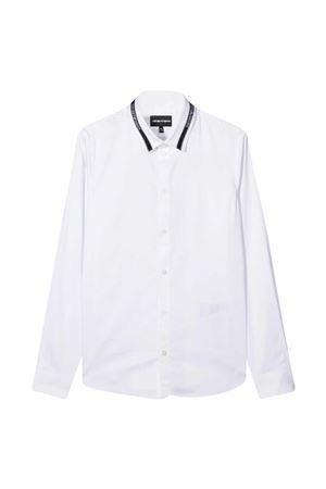 Camicia bianca teen Emporio Armani kids EMPORIO ARMANI KIDS | 5032334 | 6H4CA61NXYZ0100T