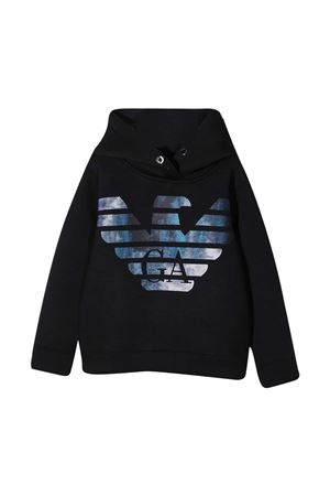 Black sweatshirt Emporio Armani Kids EMPORIO ARMANI KIDS | -108764232 | 6H4MA91JDSZ0920