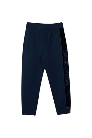 Pantaloni blu teen Emporio Armani kids EMPORIO ARMANI KIDS | 9 | 6H4P841JDSZ0975T