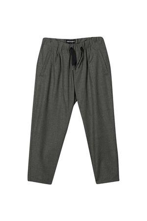 Pantaloni grigi Emporio Armani kids EMPORIO ARMANI KIDS | 9 | 6H4PG54N4FZ0652