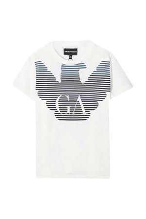 T-shirt bianca Emporio Armani kids EMPORIO ARMANI KIDS | 8 | 6H4TQ71J00Z0101
