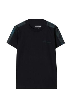 Black t-shirt Emporio Armani kids EMPORIO ARMANI KIDS | 8 | 6H4TQ81J00Z0920