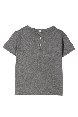 Grey baby t-shirt with frontal print Emporio Armani kids EMPORIO ARMANI KIDS   8   6HHD224J09Z0631