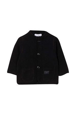 Black cardigan Emporio Armani Kids  EMPORIO ARMANI KIDS | 5032278 | 6HHG504MFLZ0920