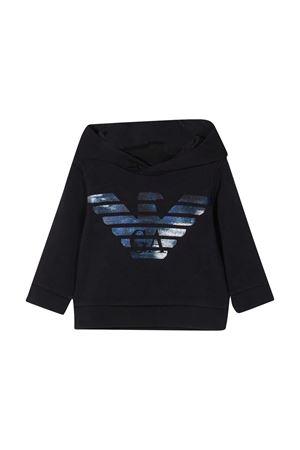Emporio Armani Kids blue sweatshirt EMPORIO ARMANI KIDS | -108764232 | 6HHMA94JCNZ0922
