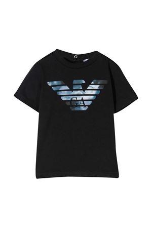 Emporio Armani Kids blue t-shirt EMPORIO ARMANI KIDS | 8 | 6HHTA91JDXZ0920