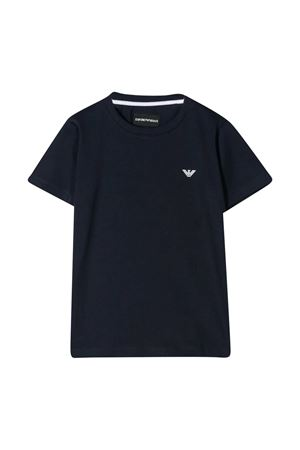 Black T-shirt teen Emporio Armani kids  EMPORIO ARMANI KIDS | 8 | 8N4TJC4JFEZ0933T