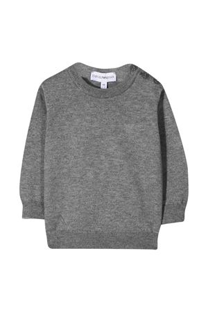 Gray sweatshirt Emporio Armani Kids  EMPORIO ARMANI KIDS | 7 | 8NHM924M16Z0652
