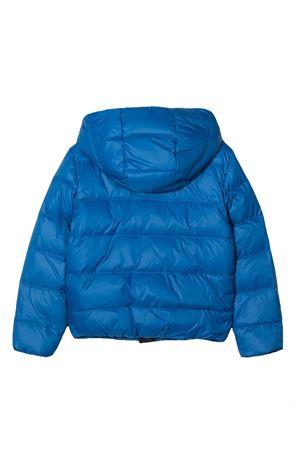 Piumino teen blu trapuntato con logo applicato Fay kids FAY KIDS | 3 | 5N2007NC250613BLT