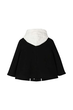 Black jacket with white hood Fay kids FAY KIDS | 3 | 5N2547NB910930BC