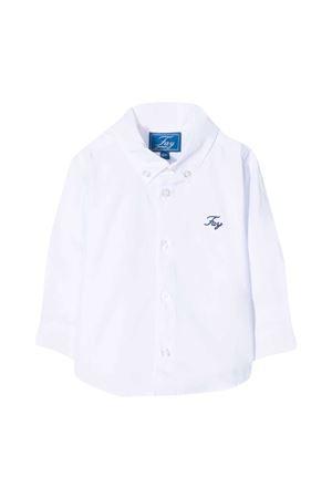 Camicia bianca con logo Fay kids FAY KIDS | 5032334 | 5N5320NX160100