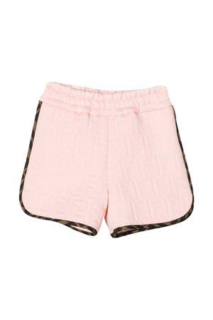 Shorts rosa Fendi Kids FENDI KIDS | -108764232 | BFF133A7LNF16WG