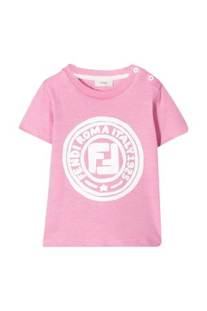 Pink Fendi kids t-shirt  FENDI KIDS | 8 | BFI1207AJF1BUD