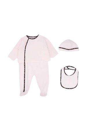 Three-piece Fendi Kids baby set  FENDI KIDS | 75988882 | BUK068ACVPF0C11